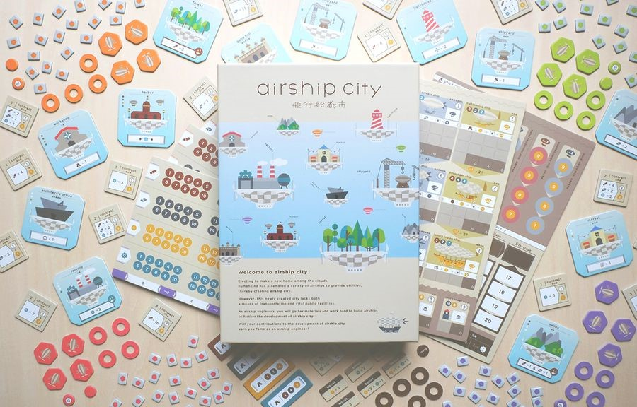 AIRSHIP CITY bei Spielefaible